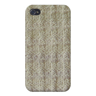 Knit Harris Tweed Itouch cover iPhone 4 Covers