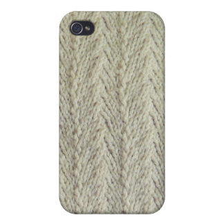 Knit Herringbone Itouch cover iPhone 4 Covers
