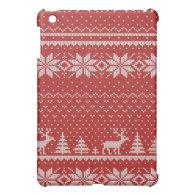 knit iPad mini case