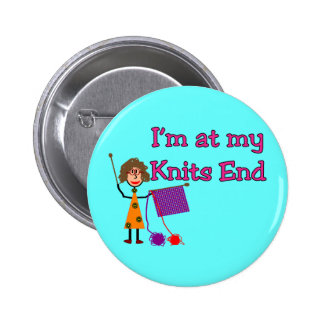 Knit Lovers Gifts 2 Inch Round Button