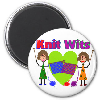 Knit Lovers Gifts 2 Inch Round Magnet