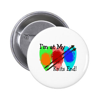 Knit Lovers Gifts Pinback Buttons