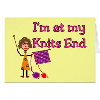 Knit Lovers Gifts Card