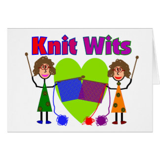 Knit Lovers Gifts Greeting Card