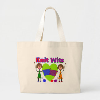 Knit Lovers Gifts Jumbo Tote Bag