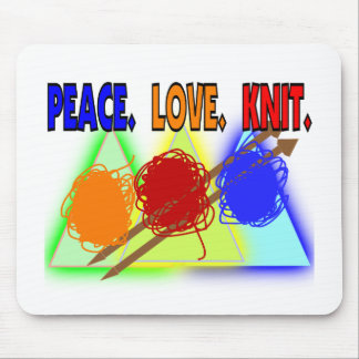 Knit Lovers Gifts Mouse Pad
