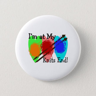 Knit Lovers Gifts Pinback Button