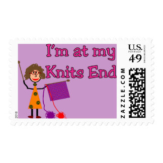 Knit Lovers Gifts Postage Stamps