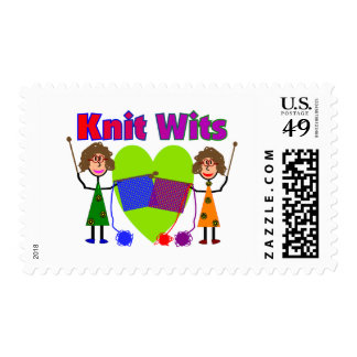 Knit Lovers Gifts Stamp