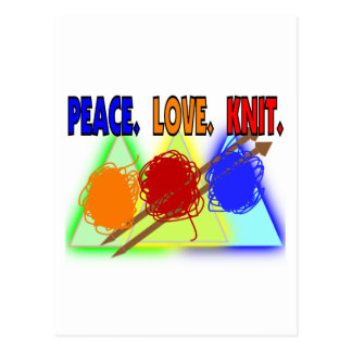 Knit Lovers Gifts Postcard