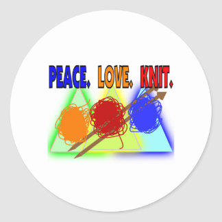 Knit Lovers Gifts Sticker