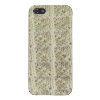 Knit Mitered Box Itouch cover iPhone 5/5S Cases