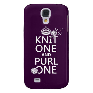 Knit One and Purl One Samsung Galaxy S4 Cover