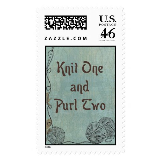 Knit One Purl Two: Creative Motivational Postage