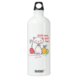 KNIT ONE PURR TWO SIGG TRAVELER 1.0L WATER BOTTLE