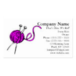 Knit Passion Business Card