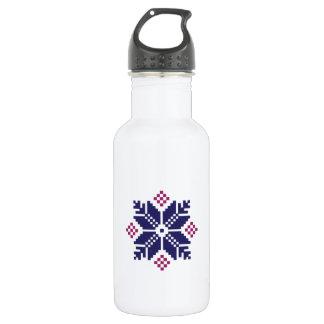 Knit Pattern 18oz Water Bottle
