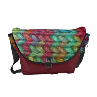 Knitting Pattern Messenger Bag : Best Messenger Bags for Crafty People: Knitters and More