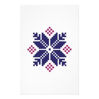 Knit Pattern Stationery