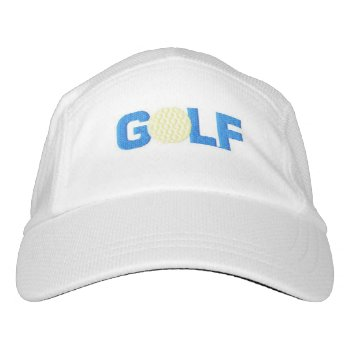 Knit Performance Hat  Golf by CREATIVEforBUSINESS at Zazzle