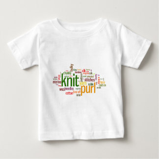 Knit Purl Knitting Lexicon for Knitters Tshirt