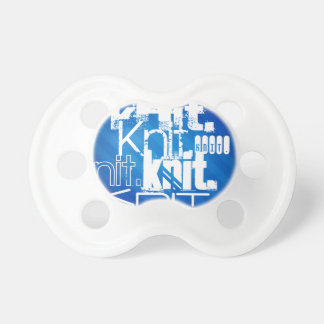 Knit, Royal Blue Stripes BooginHead Pacifier