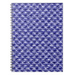 Knit textured note books