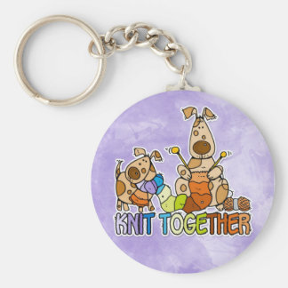 knit together keychain