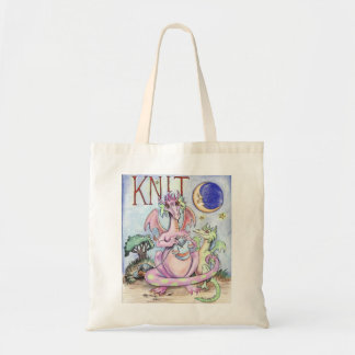 Knit! Tote Bags