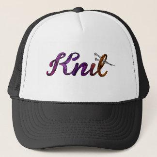 Knit Trucker Hat