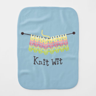 Knit Wit Burp Cloth