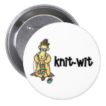 Knit-Wit button