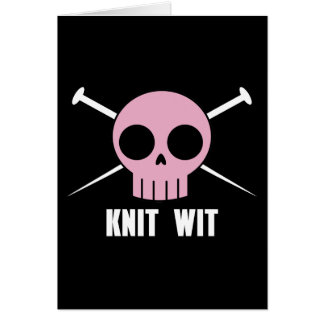 Knit Wit Card