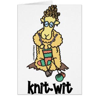 Knit-Wit Card