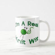 Knit Wit Coffee Mug