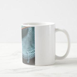 Knit wit hat and needle mugs