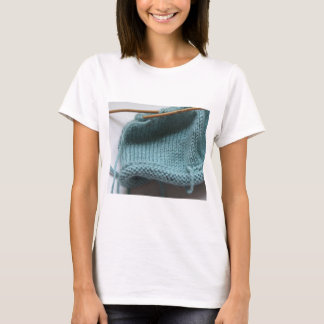 Knit wit hat and needle T-Shirt