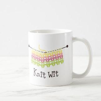 Knit Wit Coffee Mugs