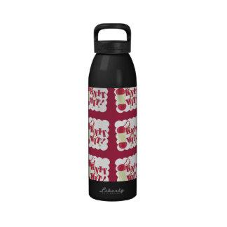 Knit Wit Pattern Too Drinking Bottle