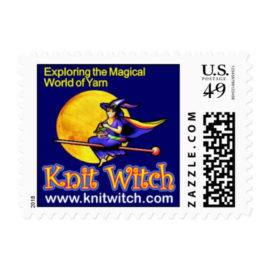 Knit Witch stamps
