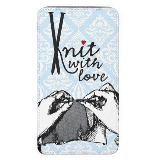 Knit with Love Galaxy S5 Pouch