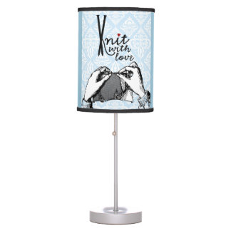 Knit with Love Table Lamp
