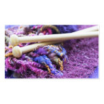 Knit with me! business card