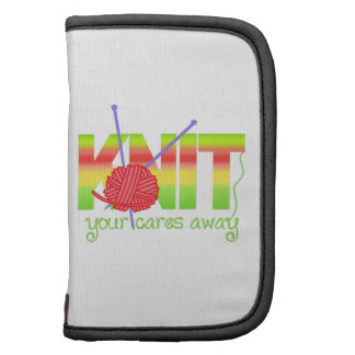KNIT YOUR CARES AWAY PLANNERS