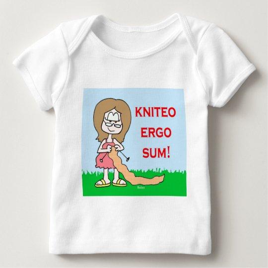 kniteo ergo sum baby T-Shirt
