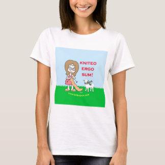 kniteo ergo sum lambspun T-Shirt