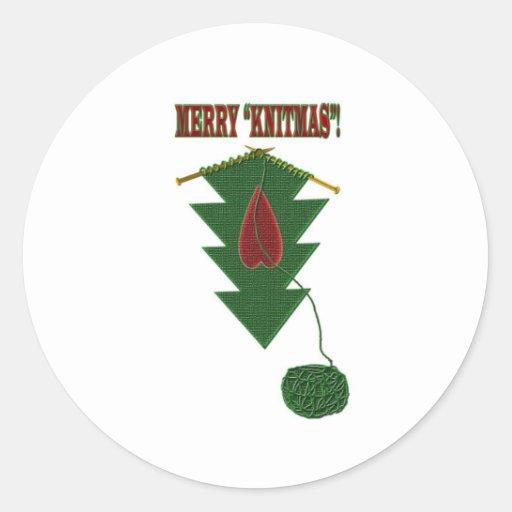 Knitmas Tree Stickers