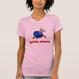 Knitta, por favor. Camiseta