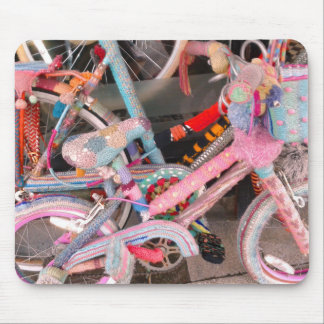 Knitted Bicycle Accessories Mouse Pad
