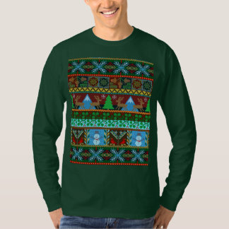 Knitted Christmas Sweater Pattern Reindeer Holiday